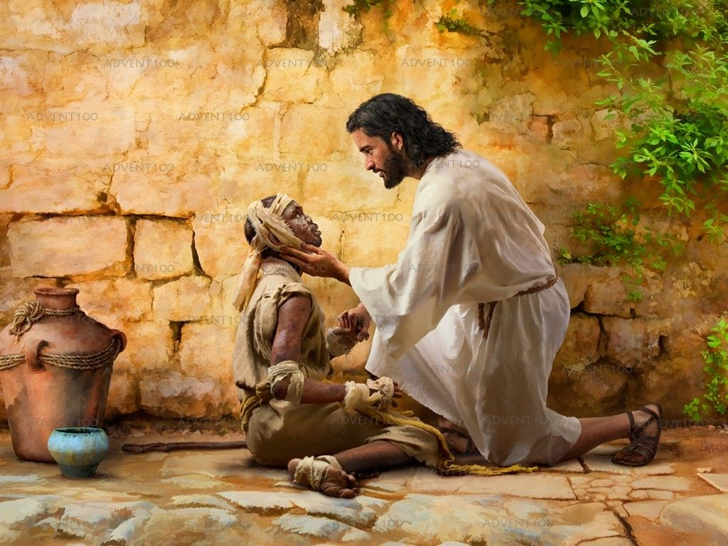 Image result for pictures of jesus healing a leper
