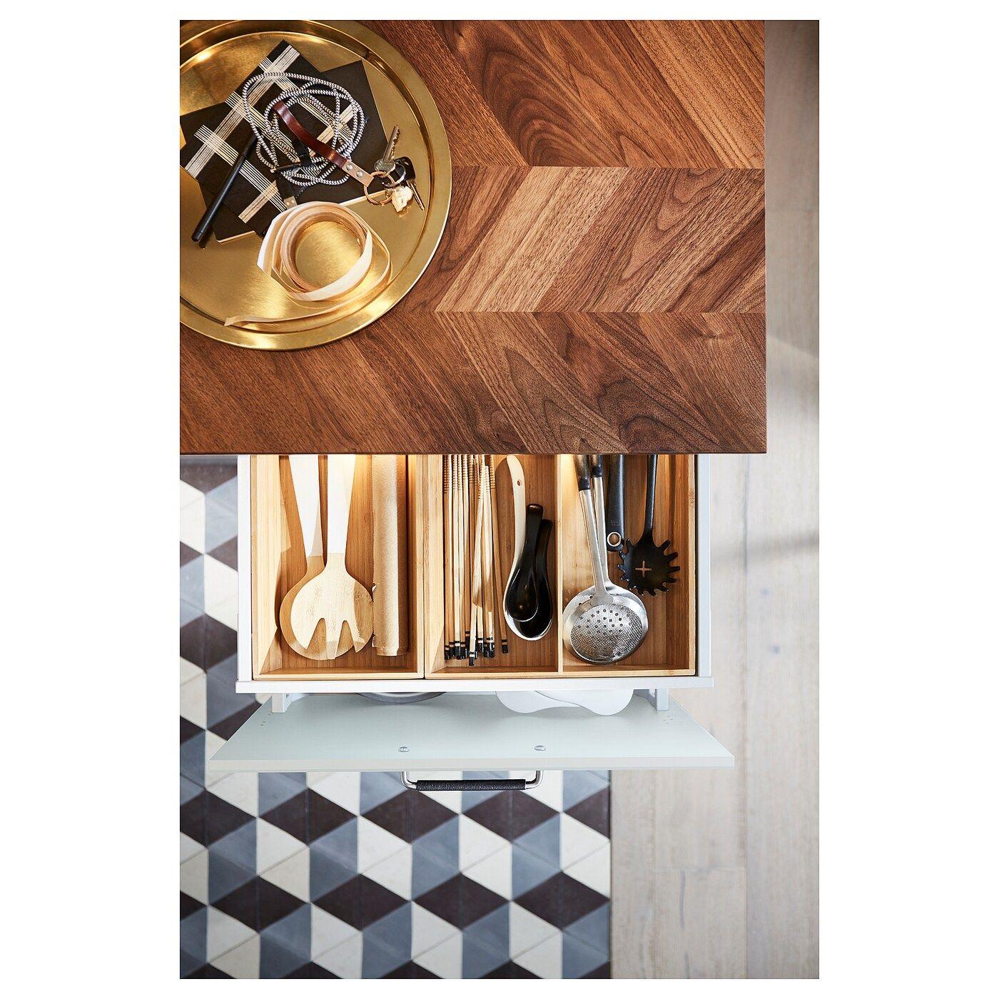 Barkaboda Massarbeitsplatte Nussbaum Furnier Arbeitsplatte Furnier Und Ikea Produkte