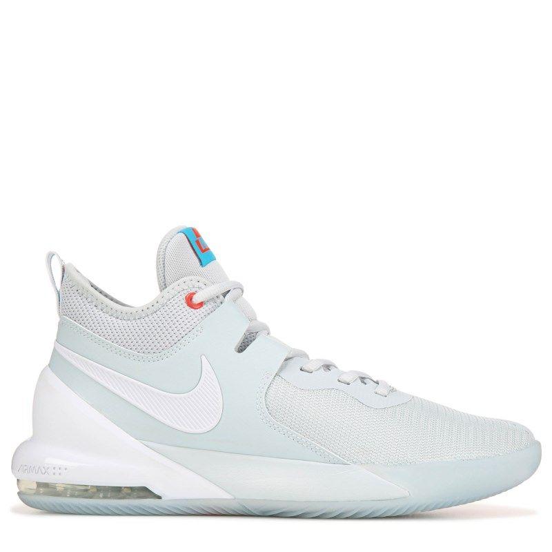 Nike Air Max Impact Basketball Shoes Grey White In 2020 Girls Basketball Shoes Nike Basketball Shoes Nike Free Shoes