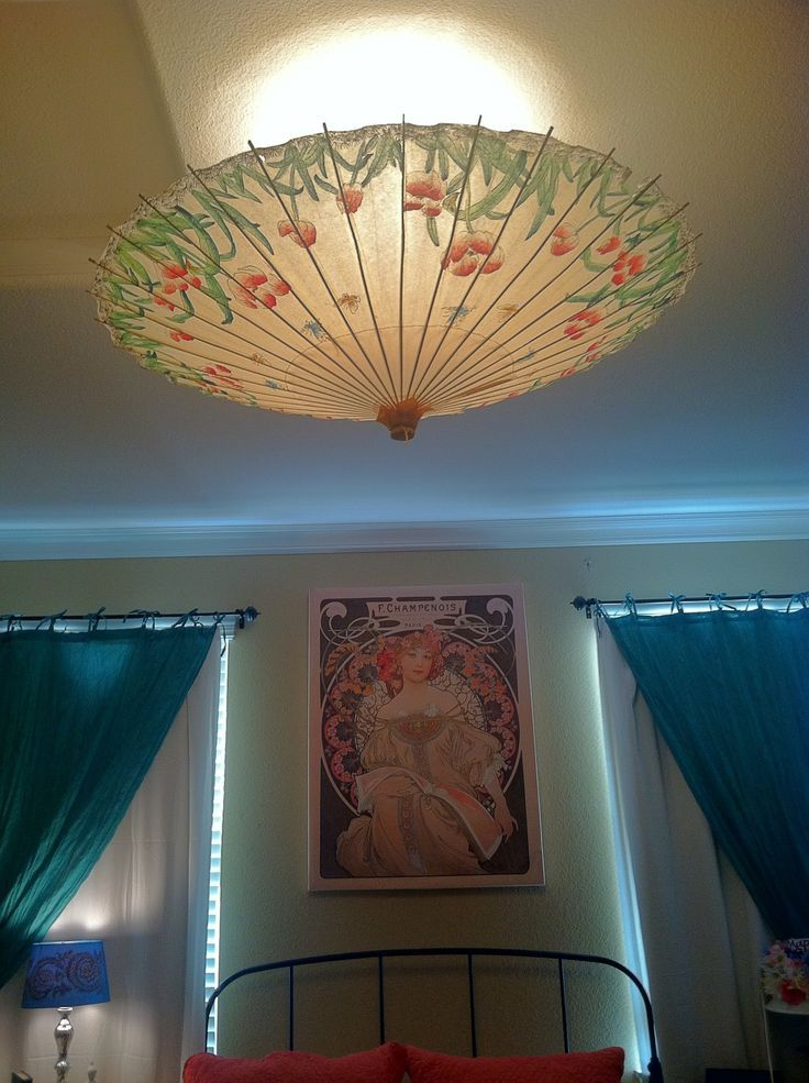 Paper Ceiling Light Covers