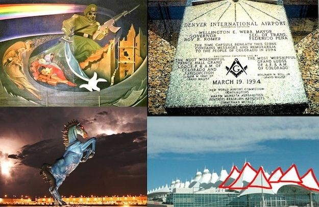 Aeroporto Denver Illuminati : The denver airport illuminati and