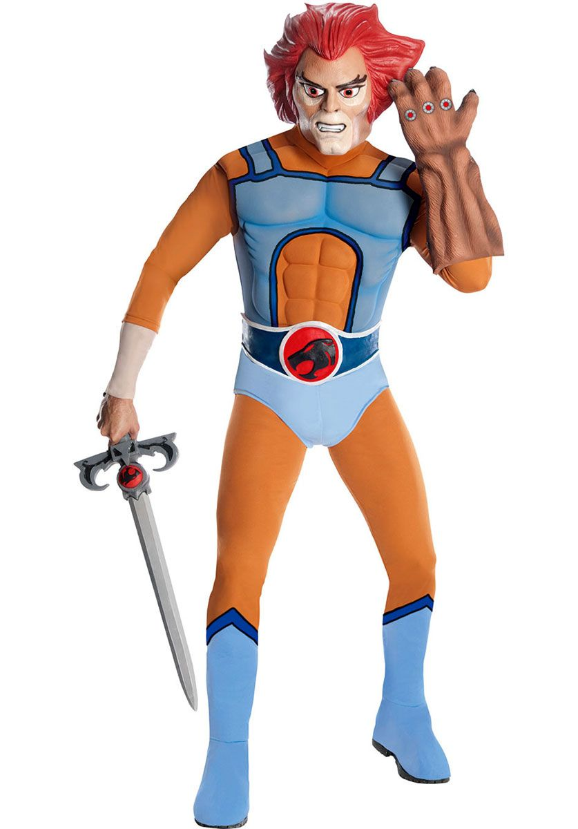 ThunderCats Costume Mask and Belt Adult Halloween Fancy Dress