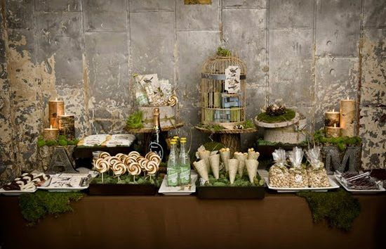 flower walls for dessert tables | table, remember to balance out colors and textures between wall, table ...