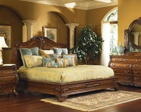 Ornate Antique Beds And Bedroom Sets For An Opulent Old World