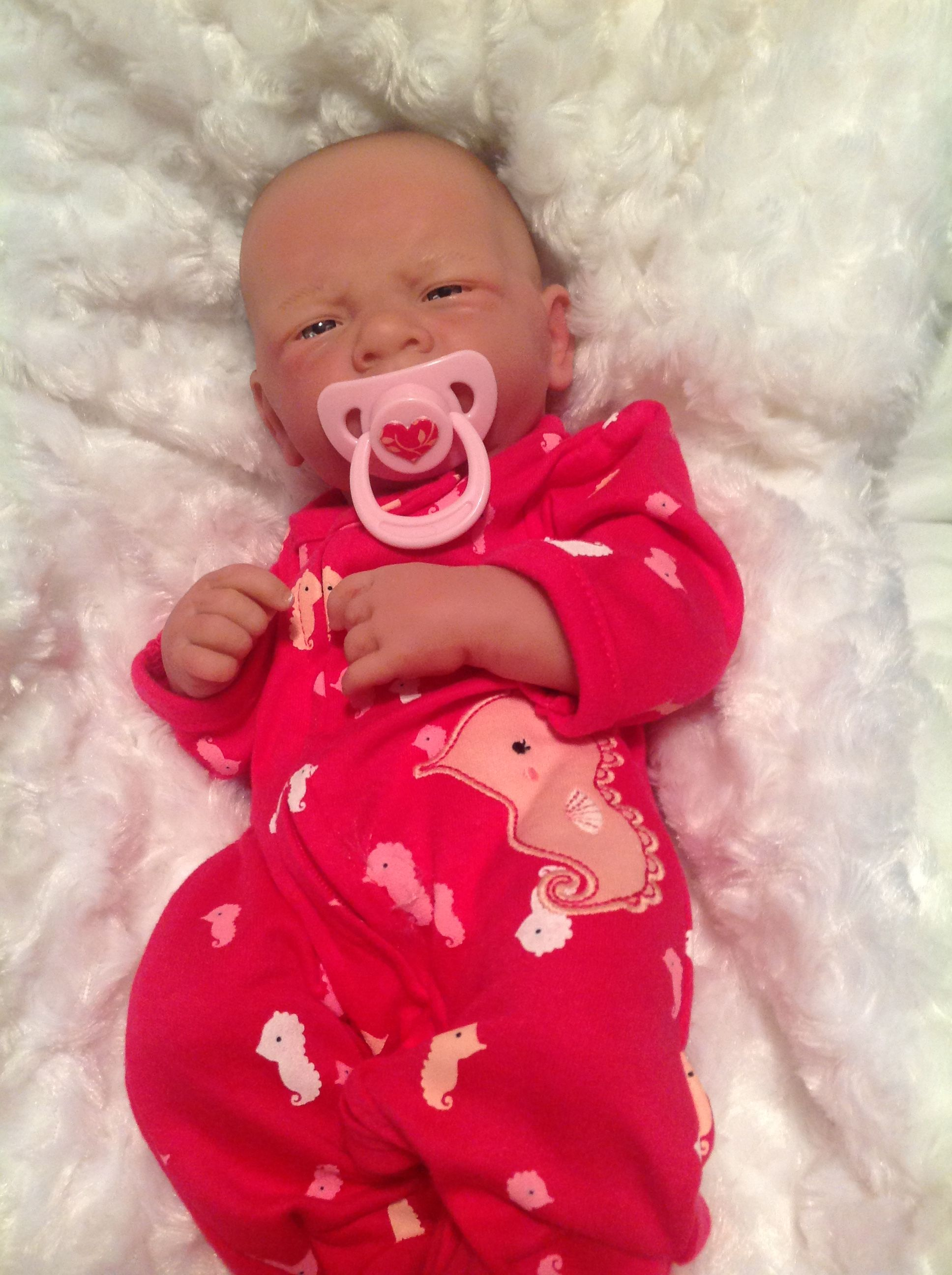 Pin By Michelle S On Adorable Baby Doll Magnetic Pacifier