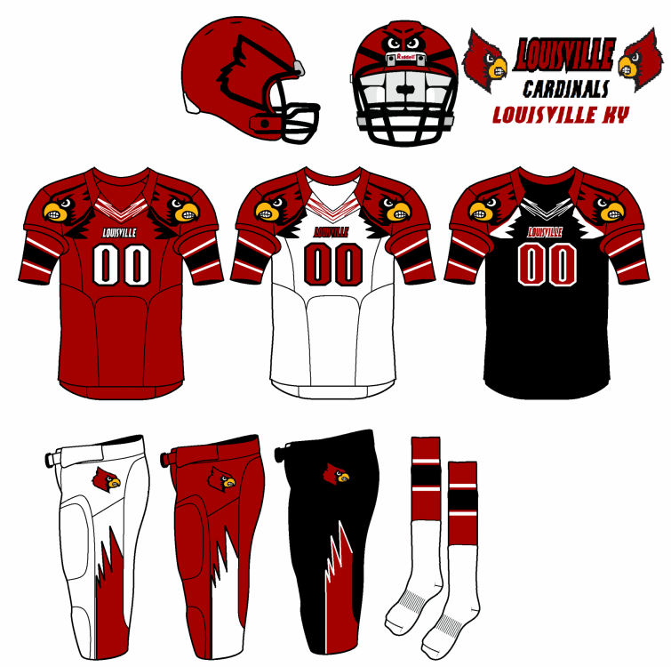 Fbs Concept Uniforms Concepts Chris Creamer S Sports Logos Community Ccslc Sportslogos Net Forums In 2020 Louisiana Tech Iowa State Cyclones Louisville Ky