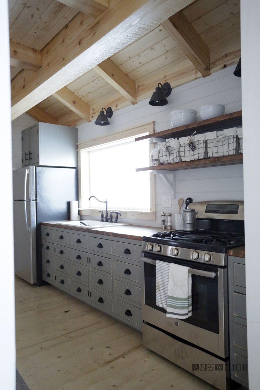 DIY Apothecary Style Kitchen Kitchen