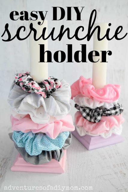 DIY Scrunchie Holder