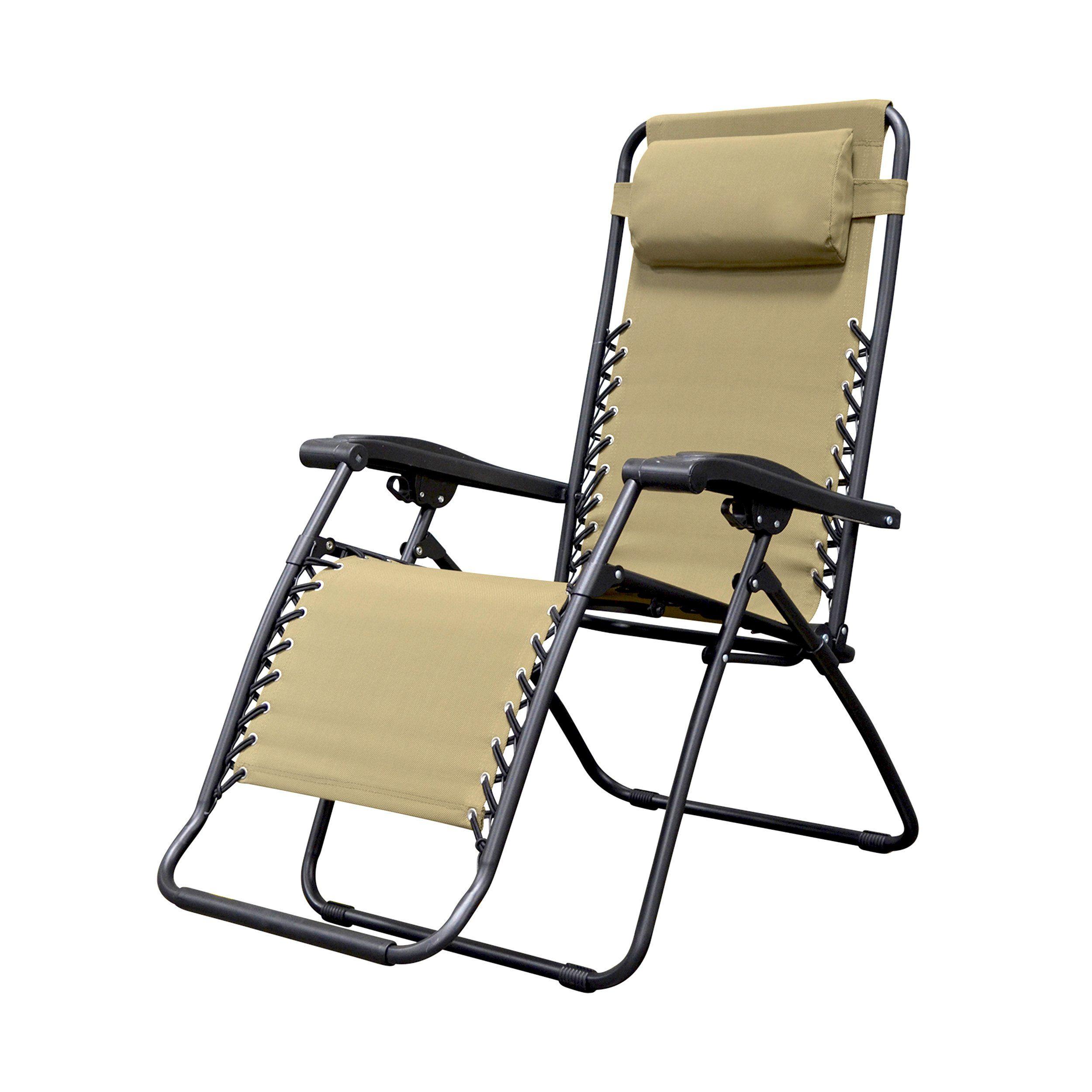 Caravan Sports Infinity Zero Gravity Chair Beige Read More At The