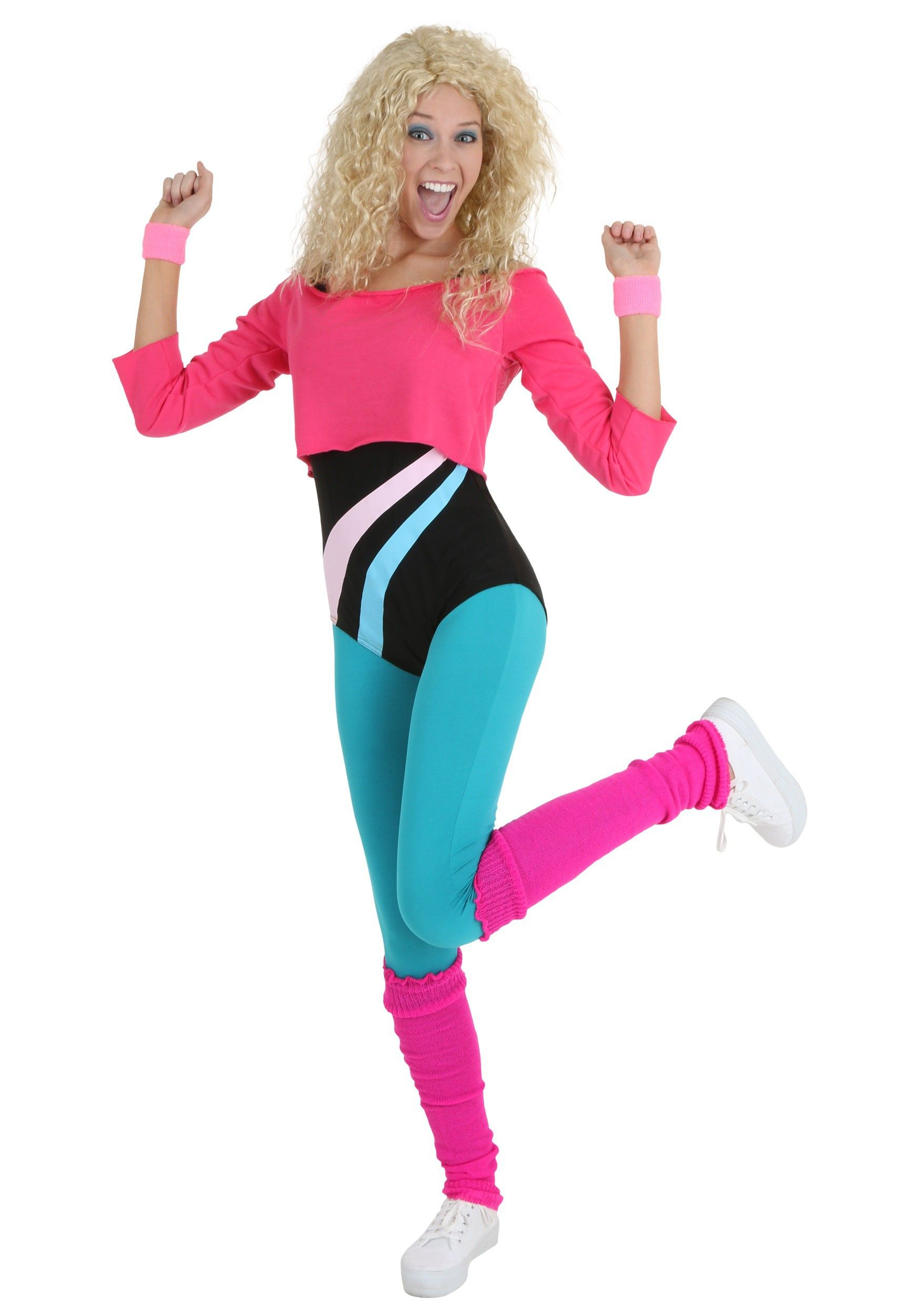 80s workout clothes for women photo
