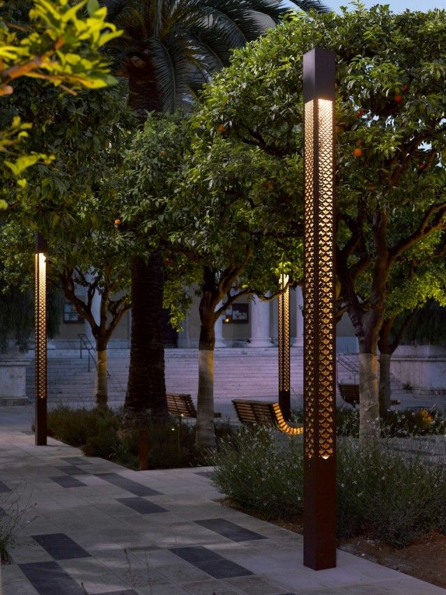 diseño de iluminacion p jardin lighting Pinterest Diseño de - iluminacion jardin