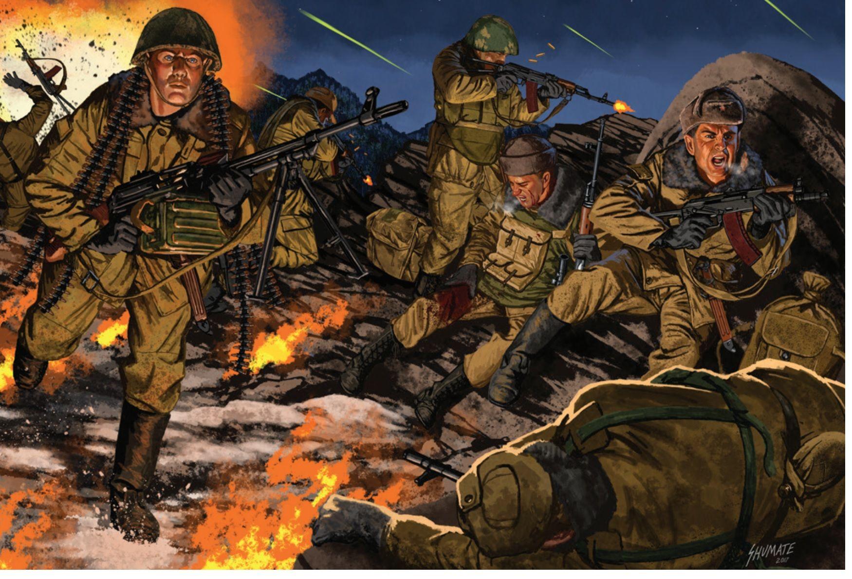 Арты война в чечне