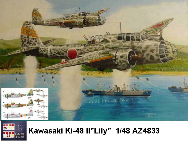 The aircraft served in China from late 1940, replacing the Kawasaki Ki-32, and were widely used in the Philippines, Malaya, Burma, New Guinea, the Solomon Islands and the Dutch East Indies, where the Ki-48 Ia and Ib models, slow and badly armed, were supplemented by the marginally improved Ki-48 IIa and IIc, which were maintained in service along with the older types until the end of the war.