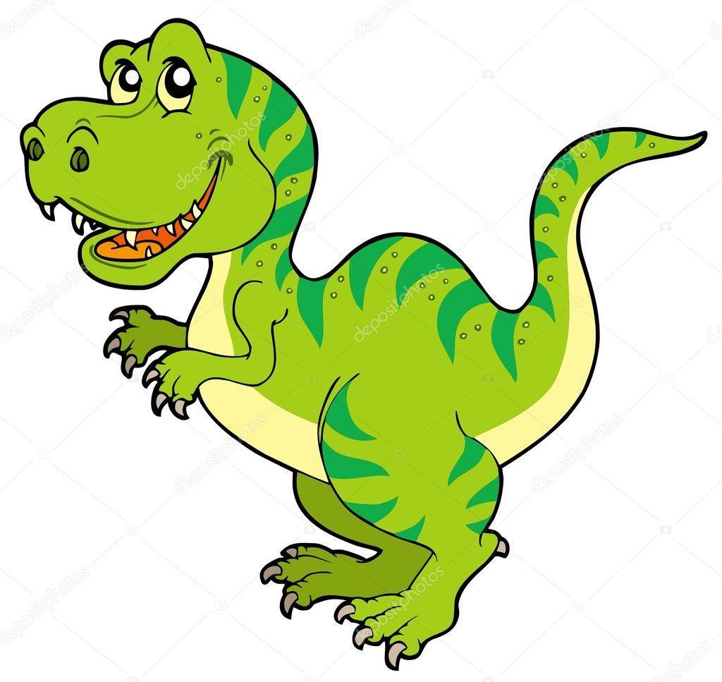 Tyrannosaurus Rex Vector Ilustracion De Dibujos Animados Dinosaurios Animados Tiranosaurio Rex Dibujo Dinosaurios Imagenes