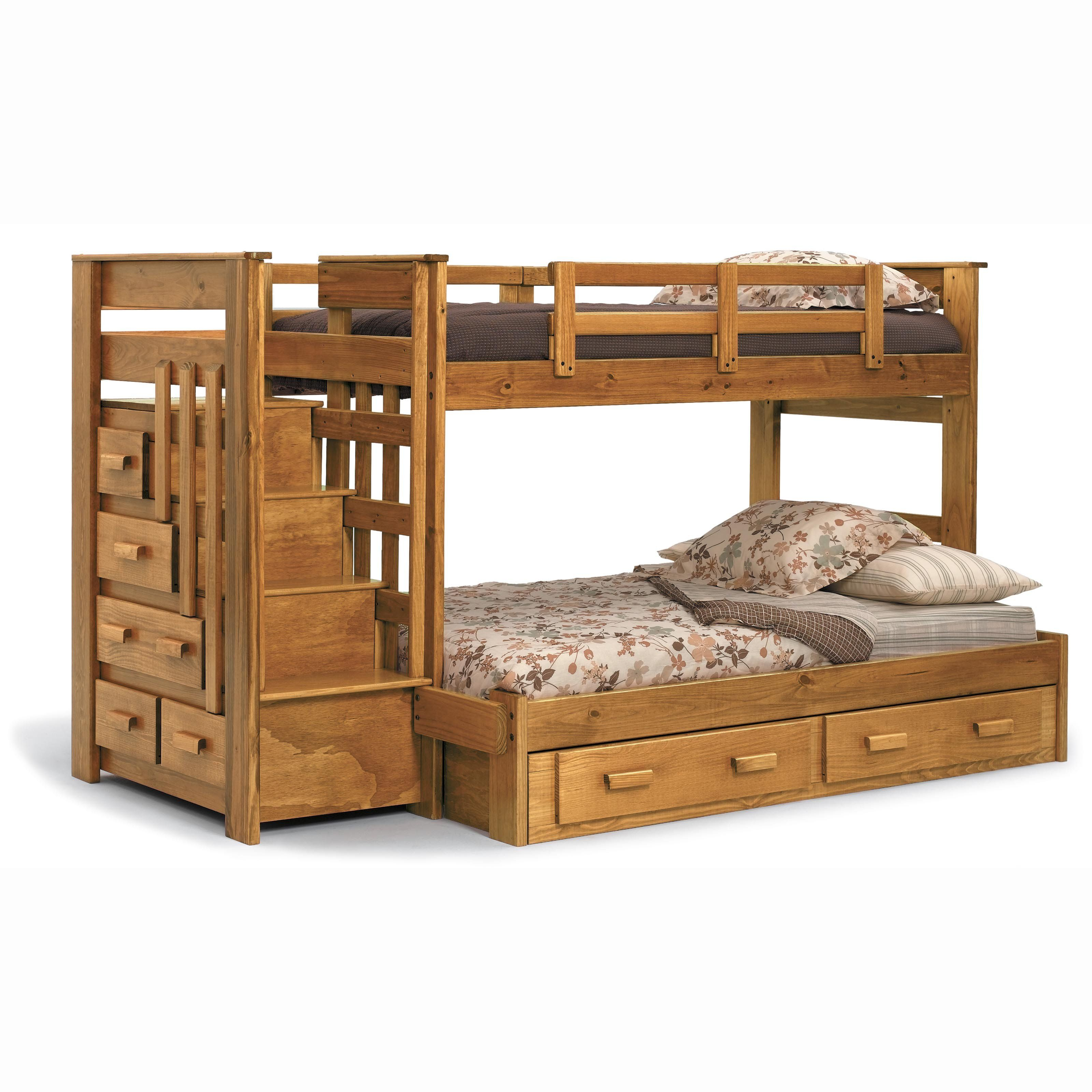 Have To Have It Heartland Twin Over Full Bunk Bed With