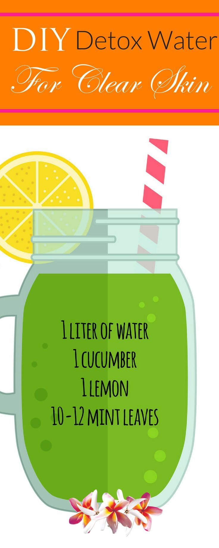 Detox water drink your way to clear glowing skin water recipes