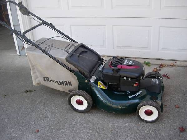 Craftsman 6 25hp Self Propelled Lm 140 Sacramento Image 1 Image 1image 2image 3image 4image 5image 6 Lawn Mower Growing Flowers Outdoor Power Equipment