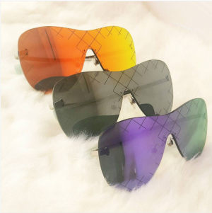 c27bb013ac4 Chanel Shield Runway Sunglasses