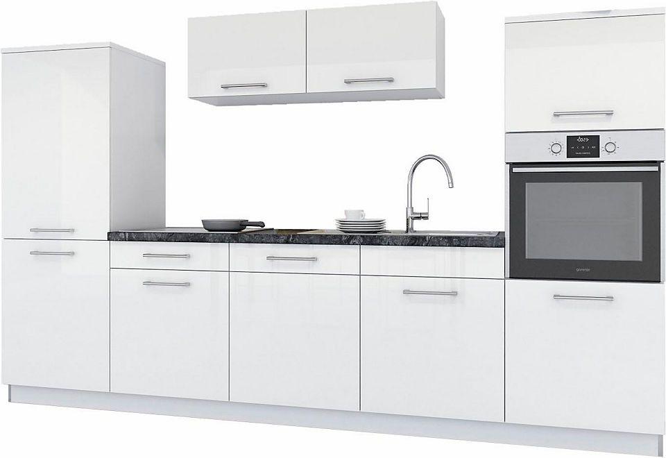 set one by Musterring »Bari« Küchenzeile mit E-Geräten, Breite 300 - esszimmer mobel musterring
