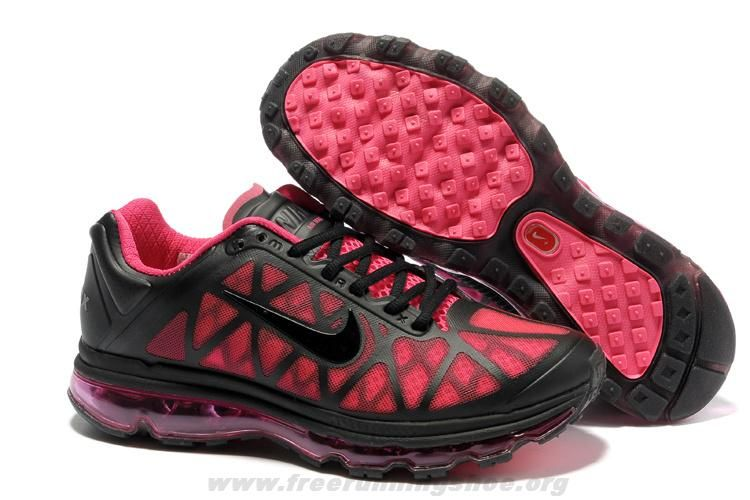 120c57e85d68 New 429890-065 Hot Pink Black Shoes Womens Nike Air Max 2011