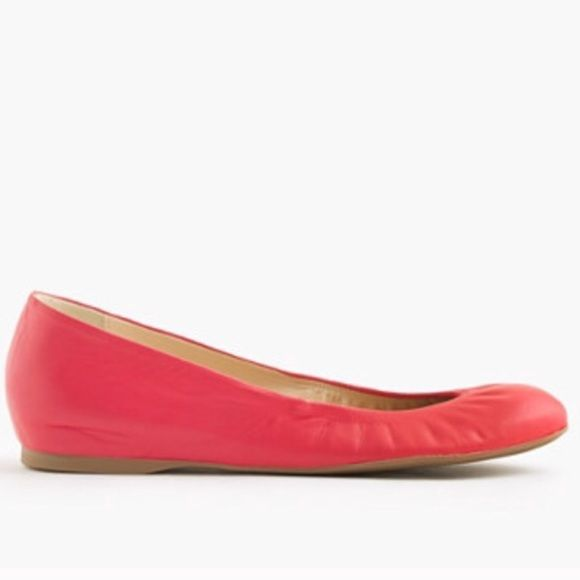 J.Crew Ballet Flat Size 8 Never worn! Brand new. I need an 8.5 otherwise I would keep them! **please only buy / offer if interested. J. Crew Shoes Flats & Loafers