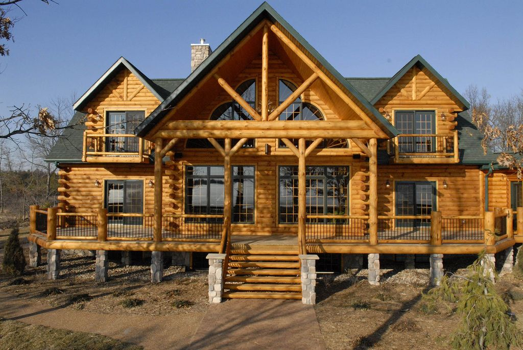 Countryu0027s Best Log Home Flickr