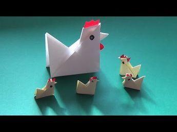 Photo of So falten Sie sich in weniger als fünf Minuten ein Papierhuhn – Falte Dir Dein Papier-Huhn!