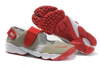 lowest price 266dd 4ac6b Fancy - Nike Air Rift Men Shoes Brown Red White Air Rift shoes online store