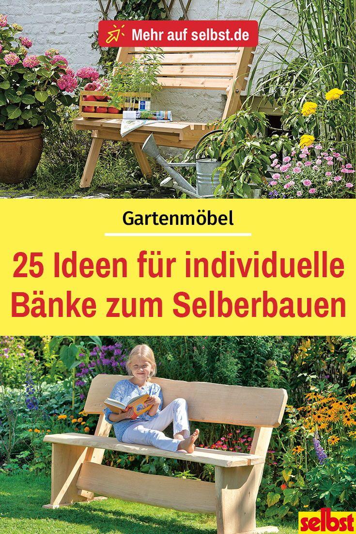 Bank selber bauen| selbst.de #weihnachtsdekohauseingangaussen