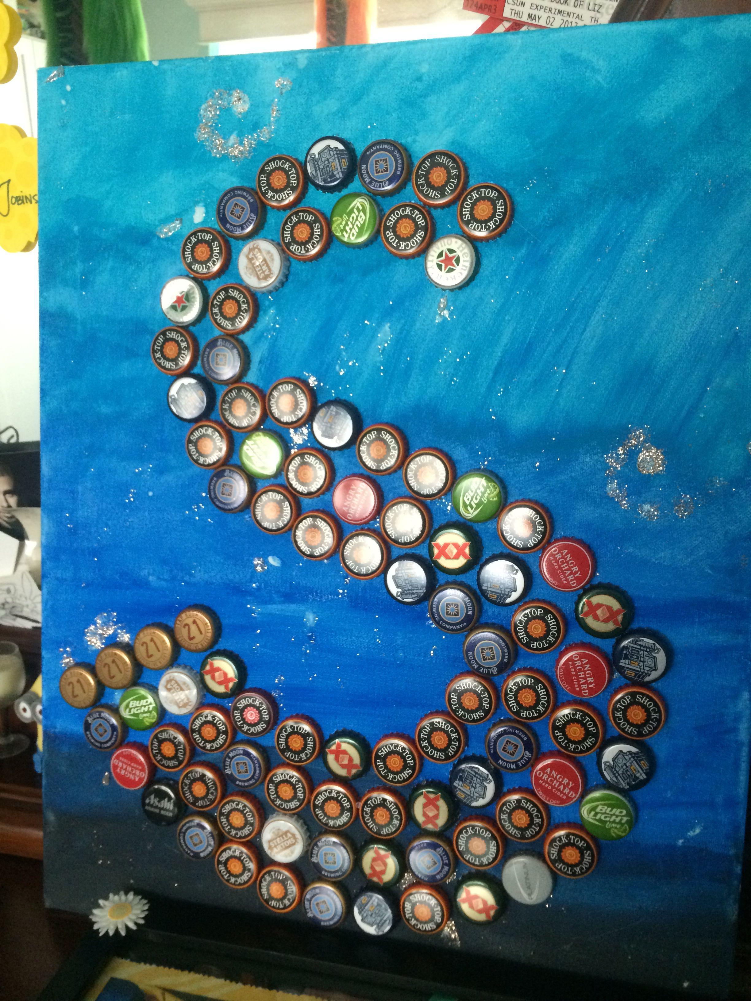 Diy 21St Birthday Gift Idea 1 Get Canvas Paint As