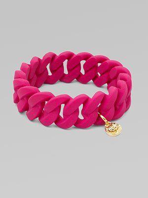 Rubber Wrapped Bracelet by Marc Jacobs #Bracelet #Marc_Jacobs