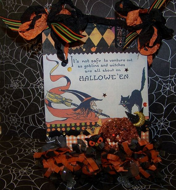 Halloween Decoration Vintage Style Wall Hanging Plaque Wall - halloween decoration images