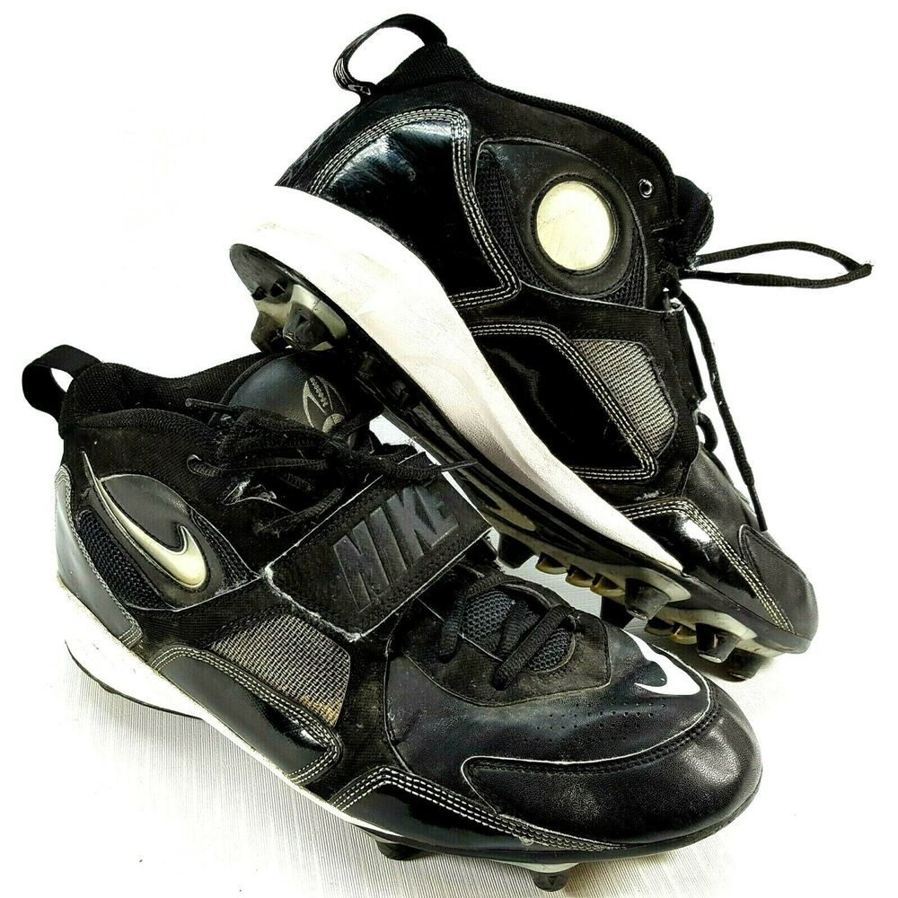 Nike mens football cleats strap high top sports shoes