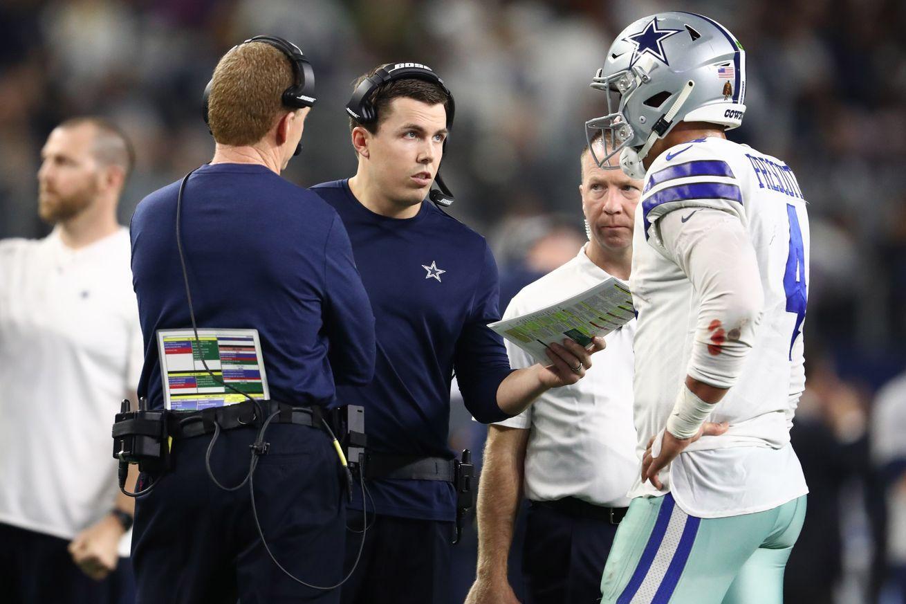 Cowboys news Dak Prescott Jason Garrett are expected to