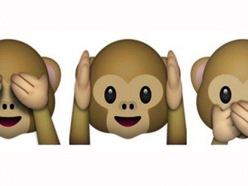 Here S How The Monkey Emoji Is Tearing The Internet Apart Monkey Emoji Emoji Hello Giggles