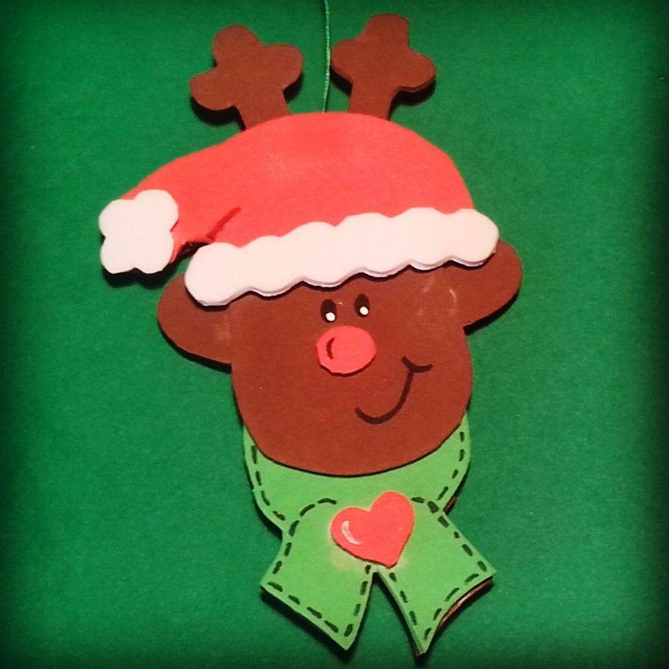 Adornos de Navidad de goma eva Eva pena Pinterest Adornos de