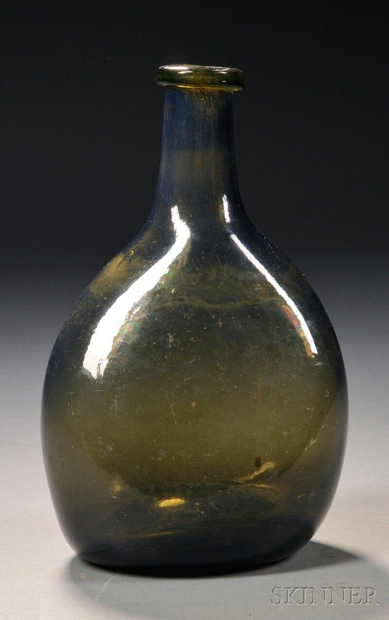 Early olive chestnut bottle. www.skinnerinc.com