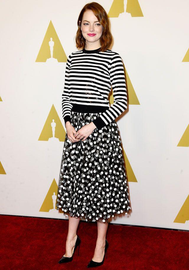 Emma Stone Michael Kors Pre-Fall 2015