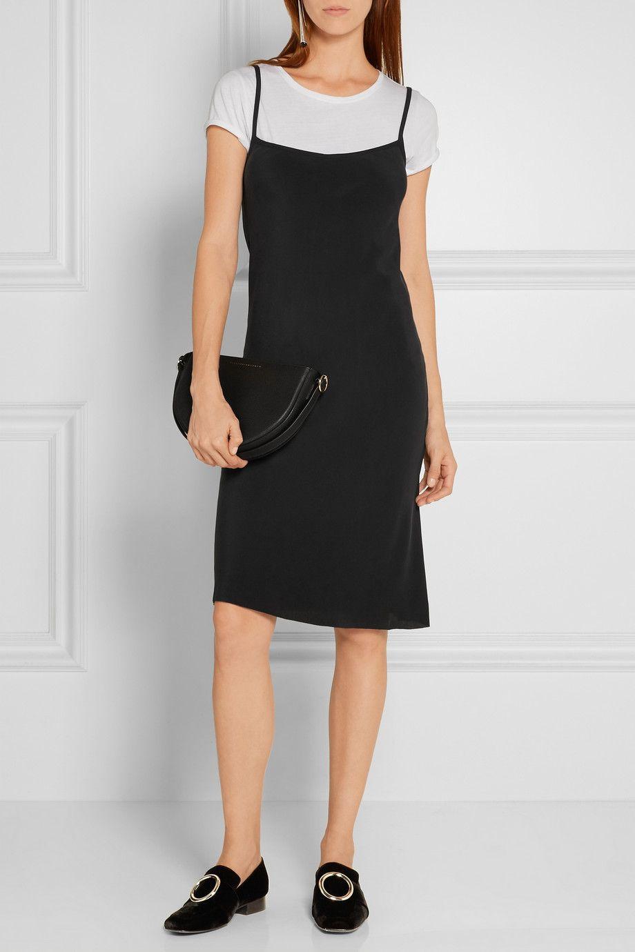5750c493158c JOSEPH Washed-silk dress$570 | Style <3 LOOKBOOK <3 | Silk Dress ...