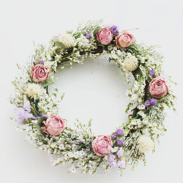#드라이플라워 #드라이플라워리스 #리스만들기 #플라워클래스 #꽃스타그램  #dryflower  #dryflowerwreath #flowerarrangement #wreath