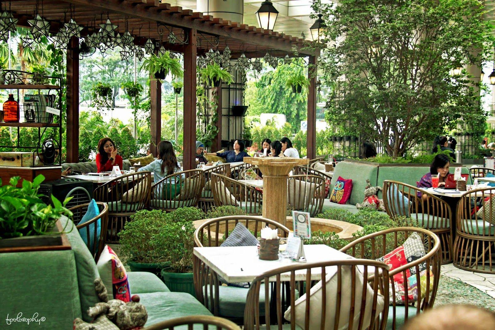 Garden Concept Restaurant In Jakarta
