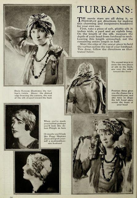 d74f3a8a2f How to tie a turban (1926) Tie A Turban
