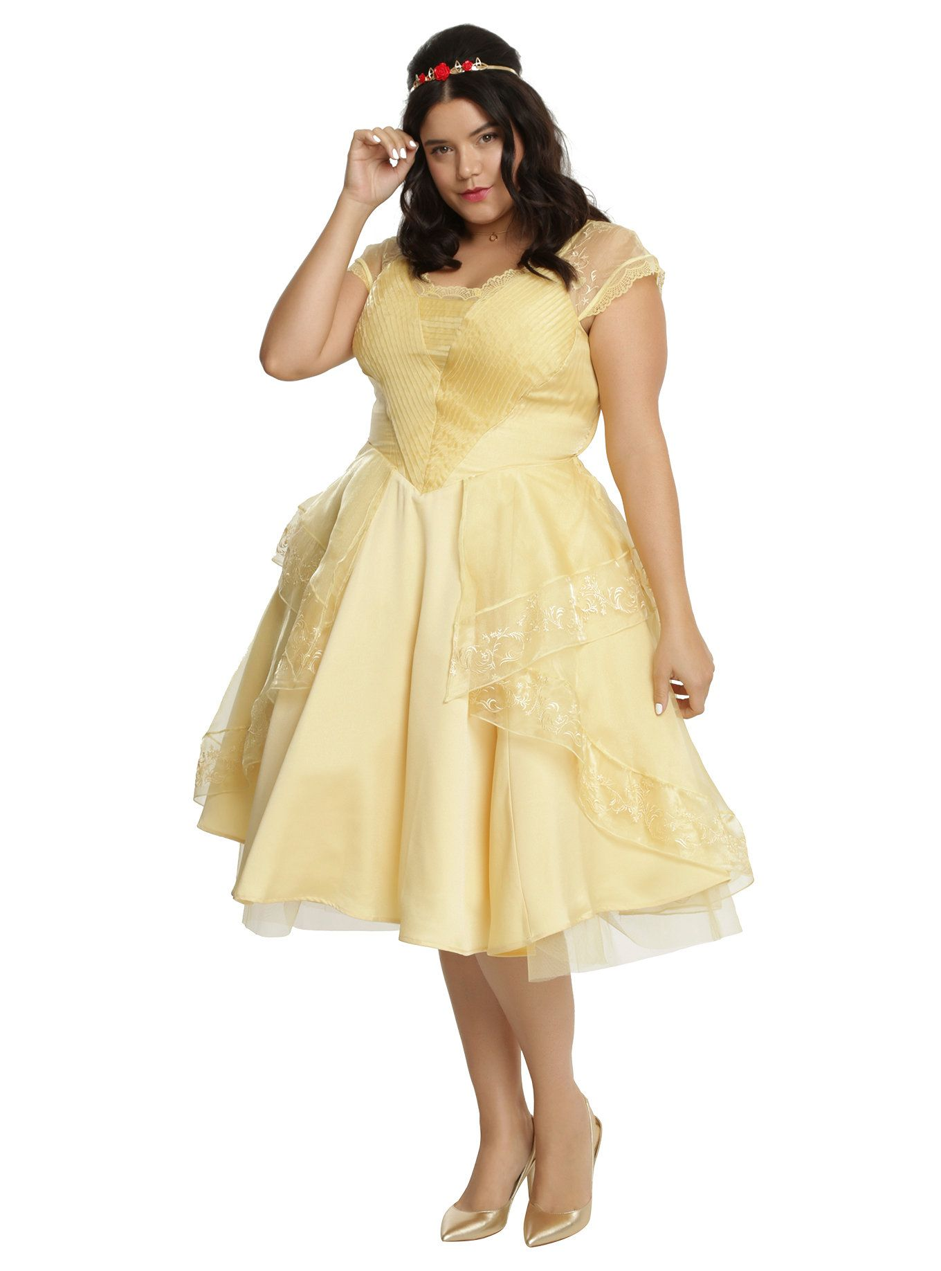 Disney Beauty And The Beast Belle Ball Gown Plus Size Ball Gowns