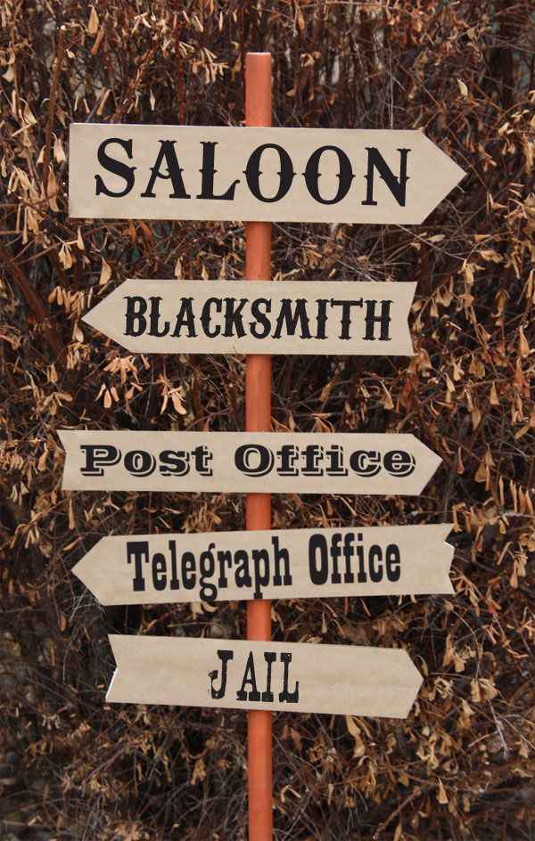 Murder at The Deadwood Saloon Decorations Wild Wild West