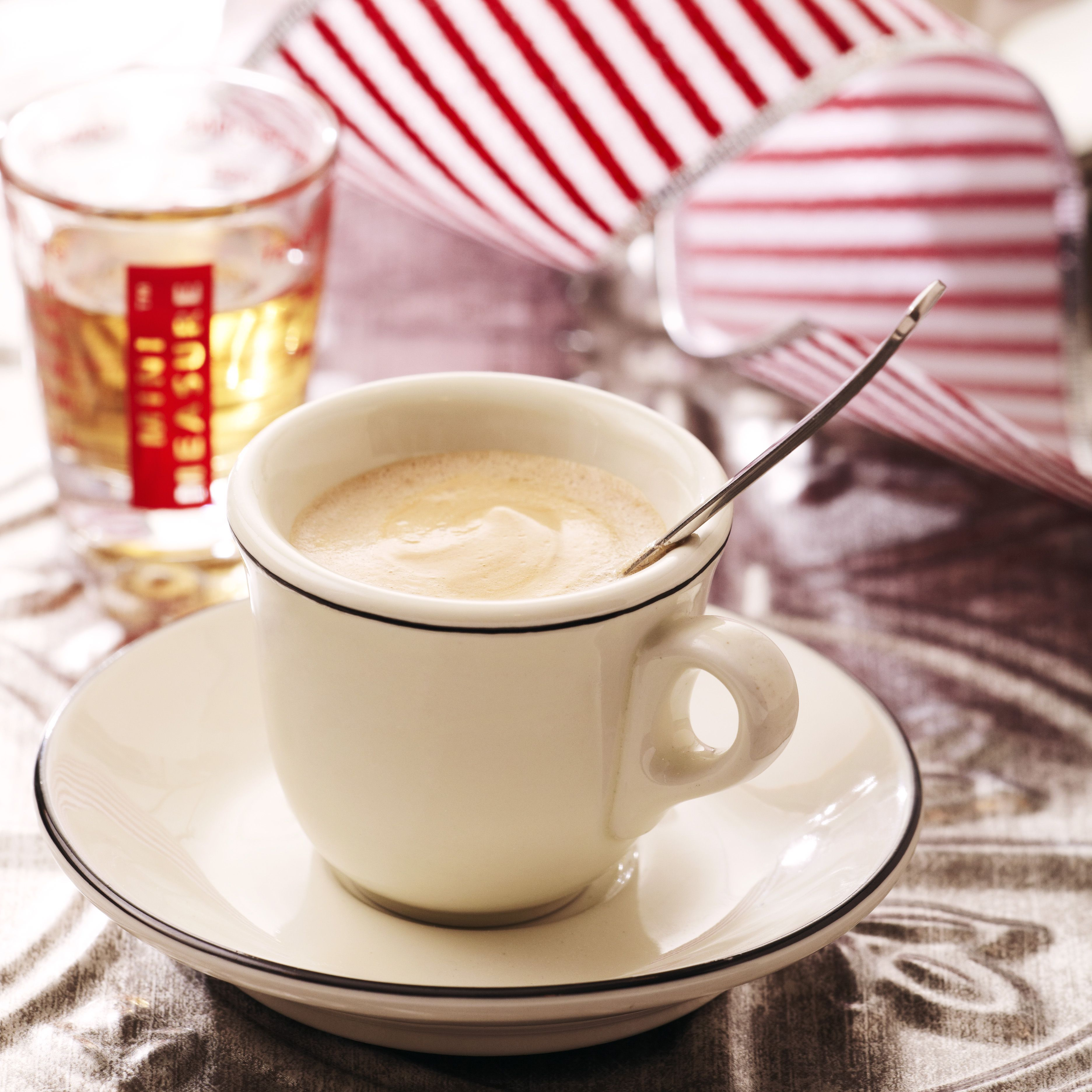 Hot Buttered White Chocolate Caramel Espresso Is Rich And