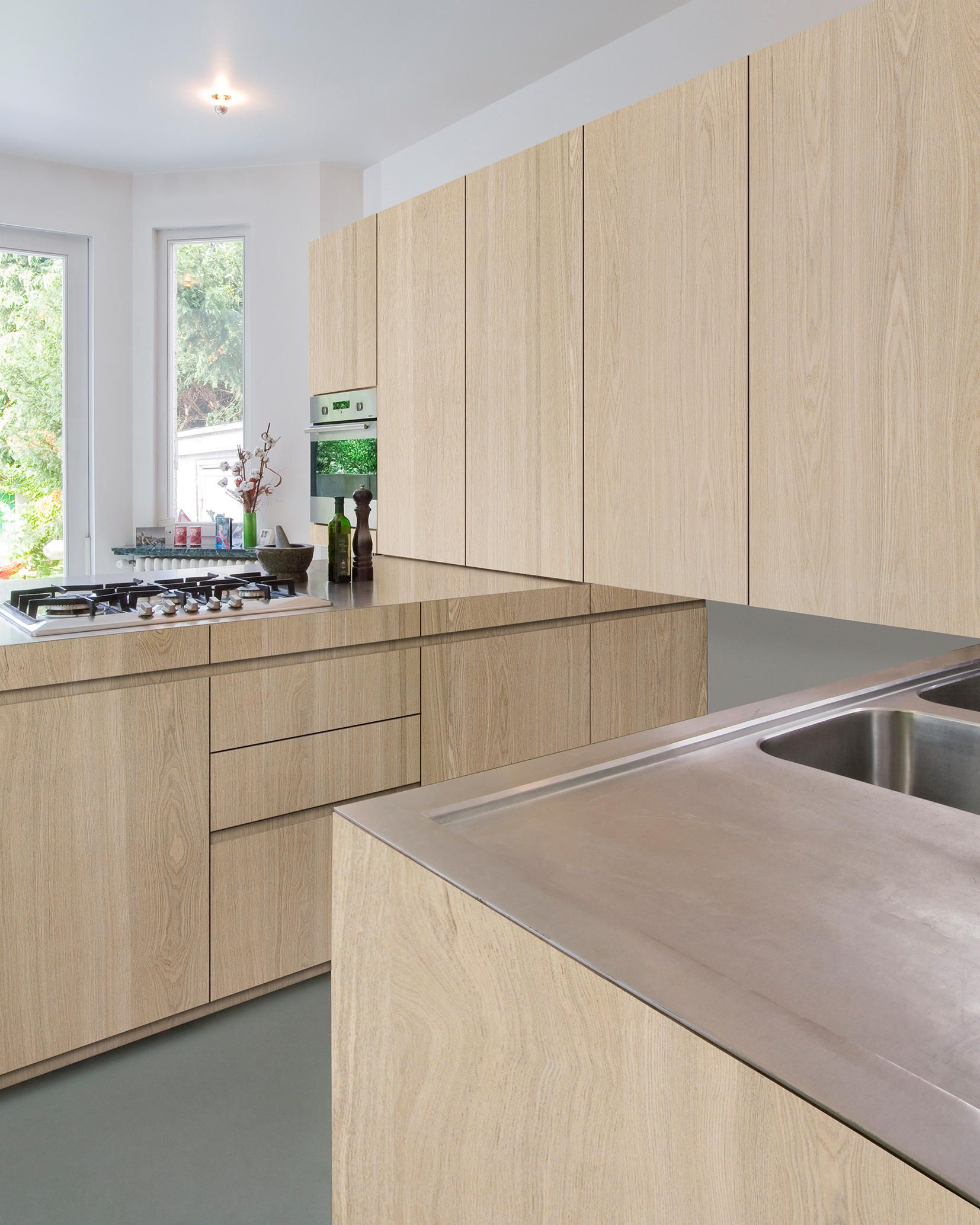 Shinnoki Sand Ash Veneers By Decospan Architonic White Oak Kitchen Kitchen Interior Wood Interior Design
