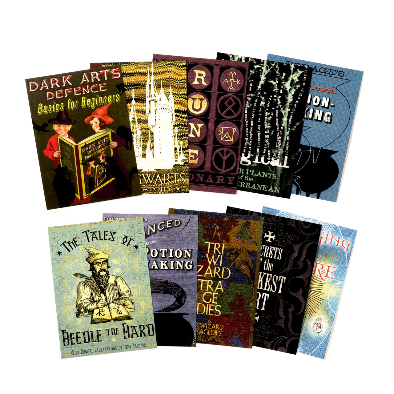 The Hogwarts Series Postcards Collection 1 Harry Potter Shop Harry Potter Decor Harry Potter Merchandise