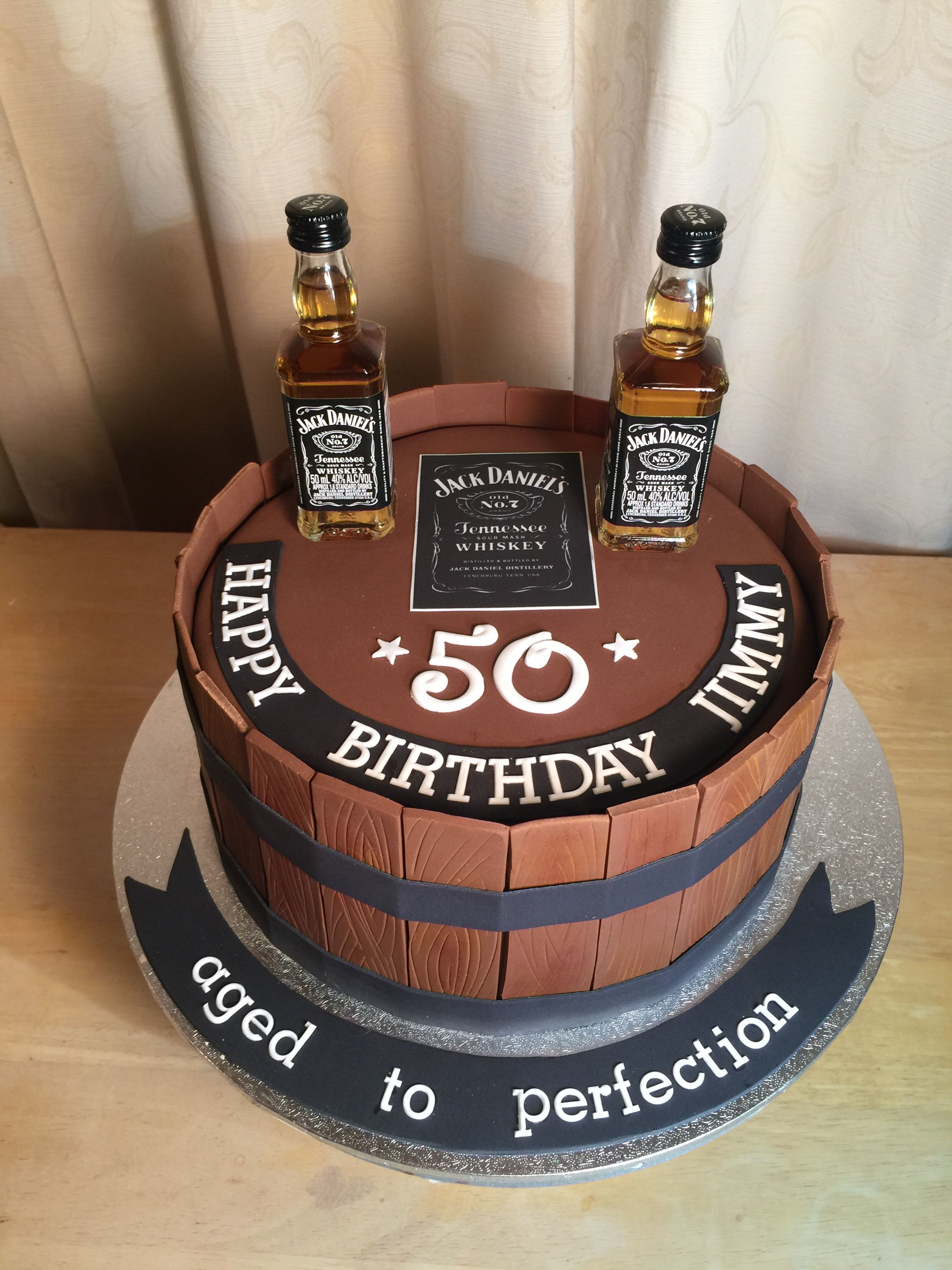 Jack Daniels Cake I Made This For My Son S 30th Birthday With