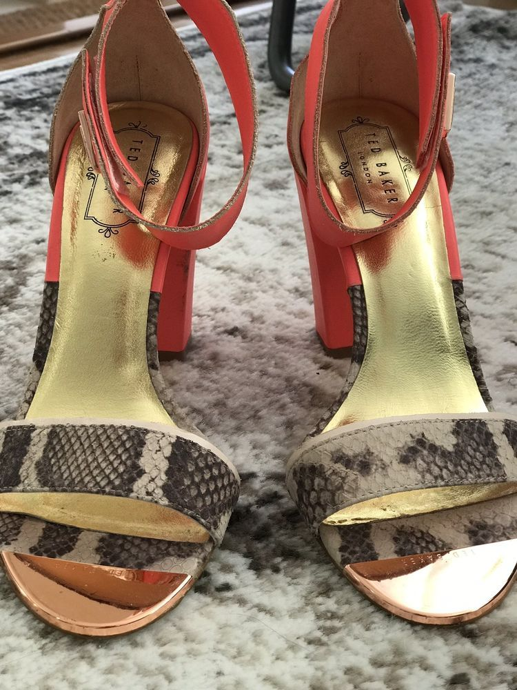fc4db90b4e78f9 Ted Baker Sandals Size US 7.5  fashion  clothing  shoes  accessories   womensshoes  sandals (ebay link)