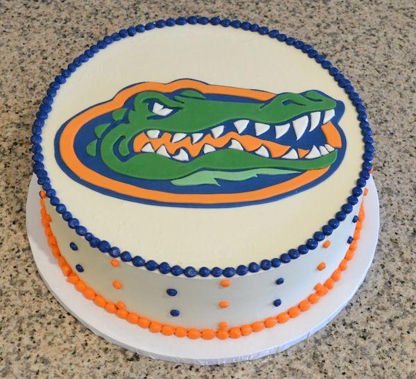 Awesome Florida Gators Cake This Will Be My Birthday Cake Next Year